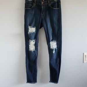 Just Black distressed jeans